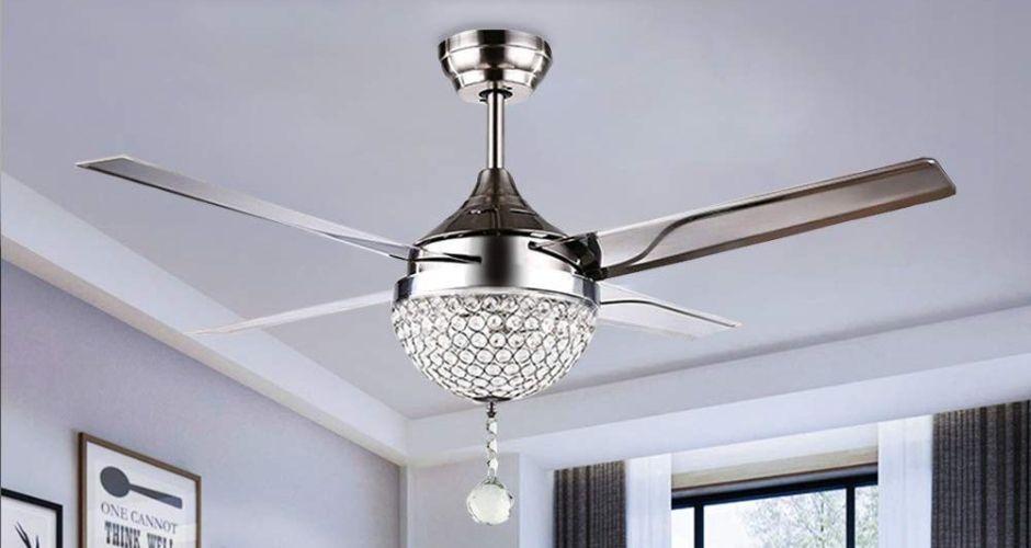 Los 5 mejores ventiladores de techo con control remoto para tu casa