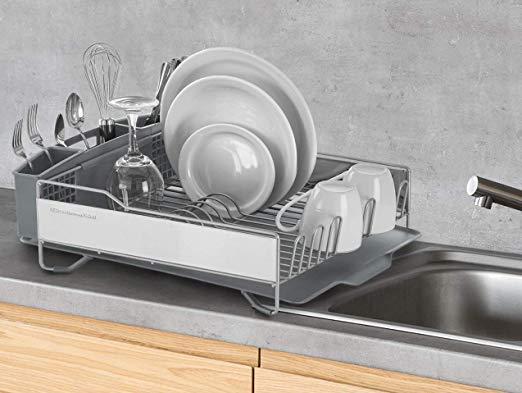 4 bandejas escurreplatos para poner a secar tus trastes si no tienes lavavajillas