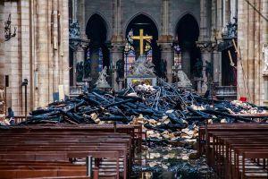 FOTOS: Se difunden las primeras imágenes de la catedral de Notre Dame después del incendio