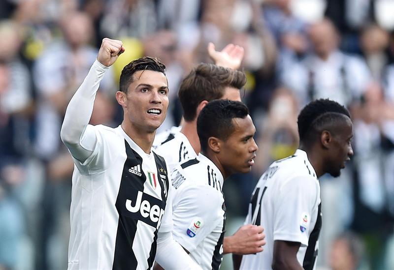 Juventus conquista su octavo título consecutivo en Italia ¡Cristiano respira!