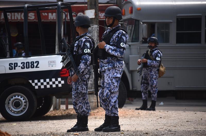 Guardia Nacional entra en funciones en la CDMX.