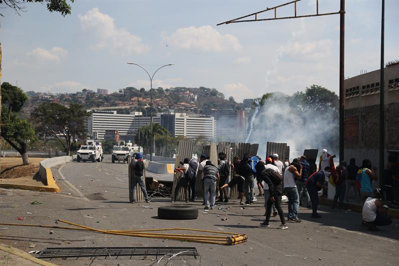 Movilizaciones en Venezuela.