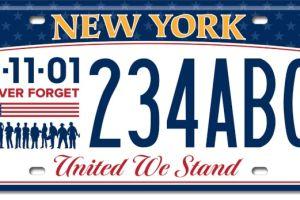 DMV de Nueva York por fin revela su placa conmemorativa del 9/11