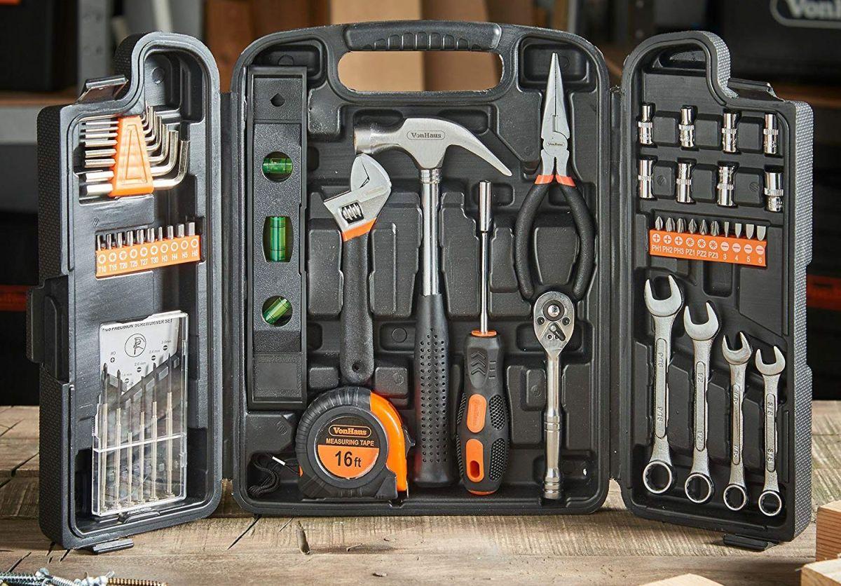 Los 6 mejores kits de herramientas con todo lo que necesitas para las reparaciones de tu hogar