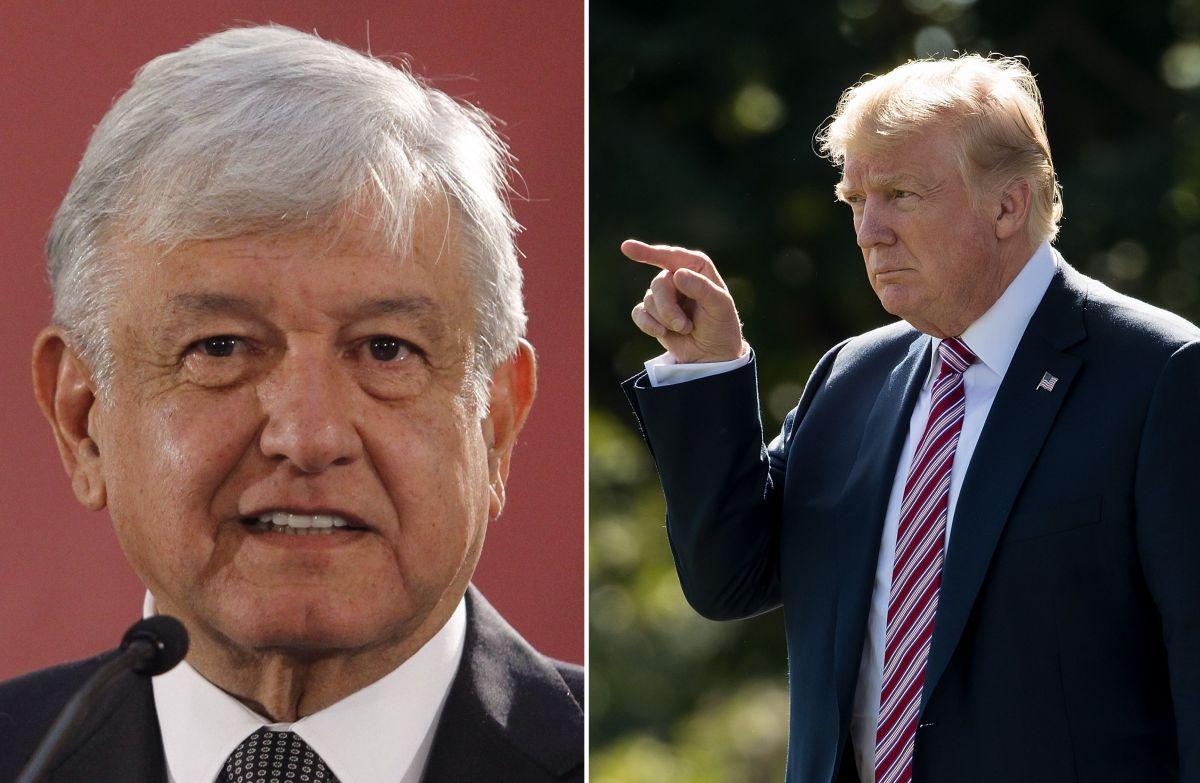 Trump advierte a México que enviará militares armados tras incidente entre soldados en la frontera
