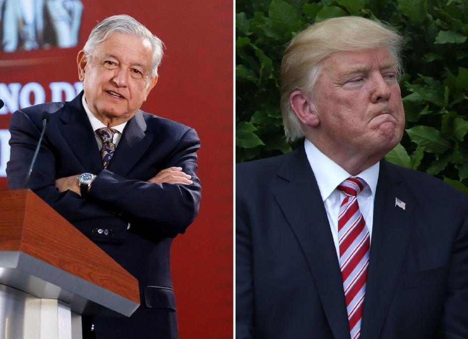 """Trump presiona a México sobre inmigrantes y afirma: """"¡Nuestro país está lleno!"""""""