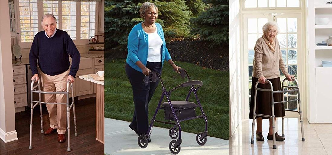 Las 6 mejores andaderas para personas de la tercera edad