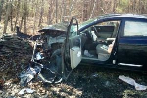 Mujer en pánico choca en Nueva York al ver una araña en su auto