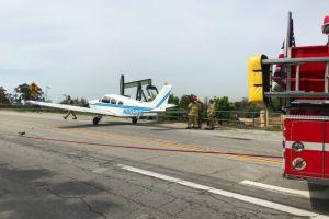 Se robó una avioneta en el aeropuerto de Chino, California y se estrelló tratando de aterrizar en Fullerton