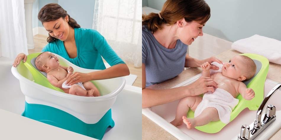 Las 7 Mejores Bañeras Especializadas Para Usar Si Tienes Un Bebé Recién Nacido La Opinión