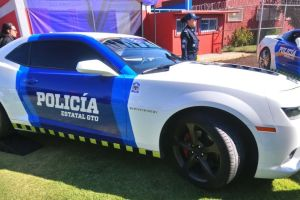 Camaro, Corvette, Mustang y Cadillac, las nuevas patrullas en Guanajuato