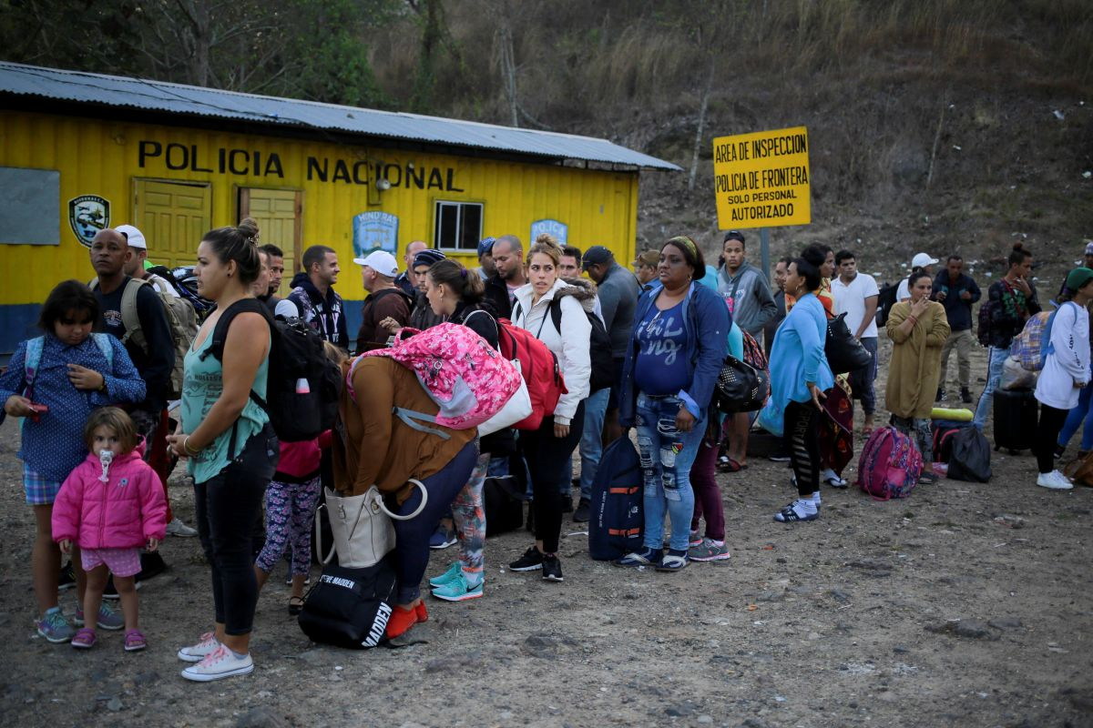 EEUU y Honduras buscan frenar el flujo migratorio