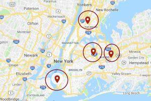 Los lugares preferidos para carreras clandestinas de autos en Nueva York