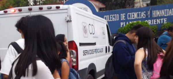 Matan de un tiro a estudiante en plena clase en escuela de la UNAM