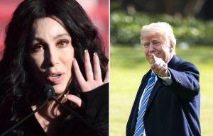 """Cher desata polémica por comentarios sobre inmigrantes en """"ciudades santuario""""... y Trump le aplaude"""