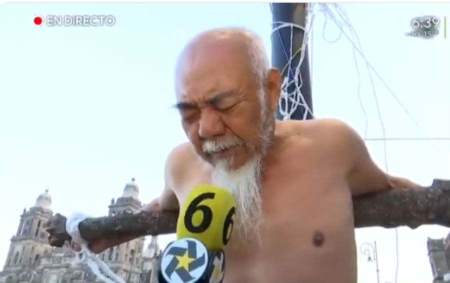 Alejo Rojas tiene 79 años.