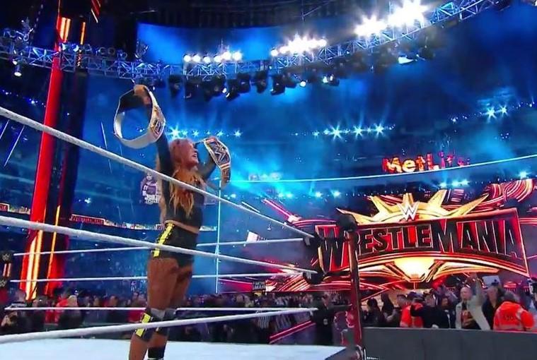 Becky Lynch, la gran ganadora de Wrestlemania 35.