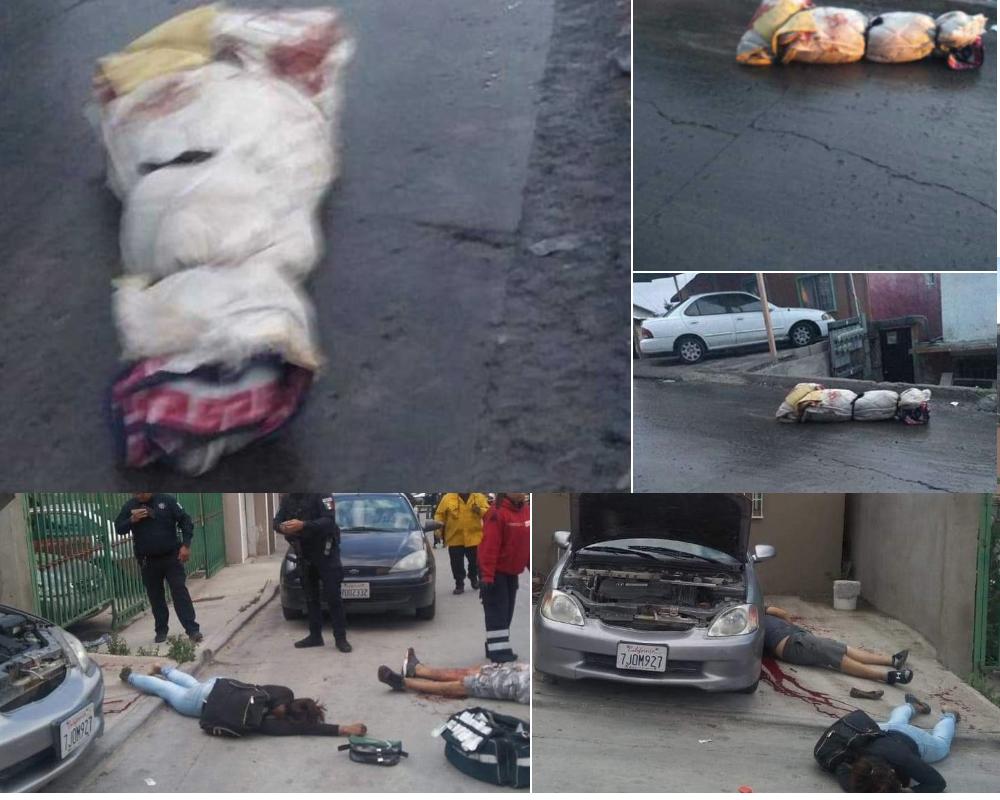 Cada día unas seis personas mueren asesinadas en Tijuana.