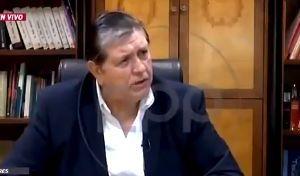 """Lo que dijo el expresidente de Perú, Alan García, antes de dispararse en la cabeza: """"Creo en la vida después de la muerte"""""""