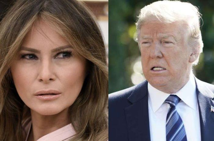 Melania y Trump pelean durante cena en Mar-a-lago. La respuesta de la Casa Blanca es clara