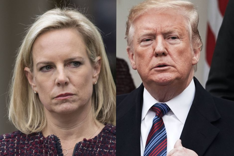 Kirstjen Nielsen no aguantó la presión y renunció a su cargo como directora de DHS