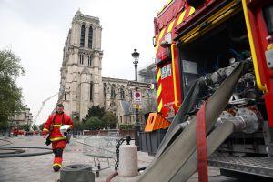 Notre Dame: Bomberos de París dan por concluido el incendio