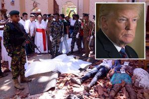 Trump condena explosiones en iglesias  y hoteles en Sri Lanka, donde murieron estadounidenses