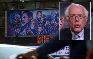 Bernie Sanders aprovecha el poder de los 'Avengers' para lanzar mensaje de igualdad salarial