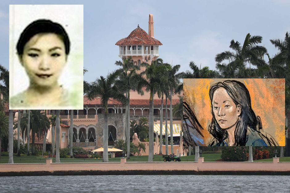 Turista china detenida dice que pagó U$20,000 para ingresar a fiesta con hermana de Trump en Mar-a-lago