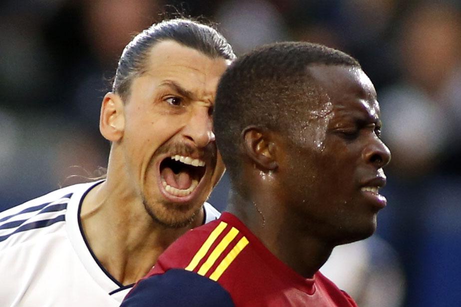 Zlatan Ibrahimovic insultó y acosó a un rival en un partido de la MLS ¿Racismo?