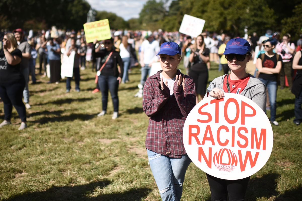 Activistas han aumentado las protestas contra el racismo.