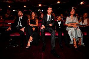 """La esposa de Messi tuvo un """"gesto"""" con Georgina Rodríguez y ella hizo lo mismo"""