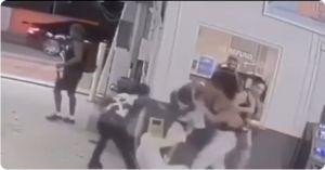 Video muestra la brutal golpiza del boxeador Shakur Stevenson a una pareja