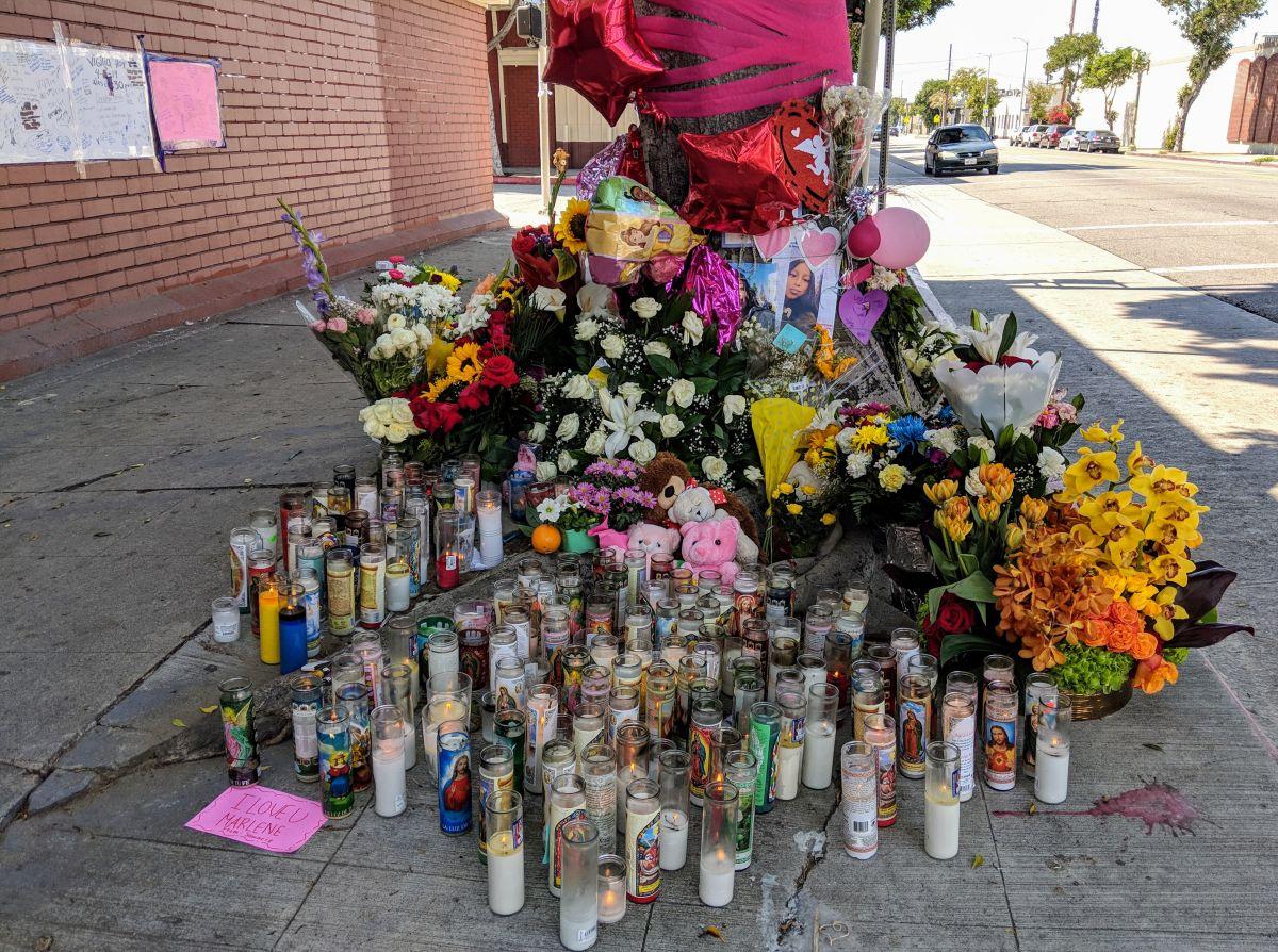 Comunidad sigue lamentando la muerte de estudiante de 14 años en el sur de Los Ángeles