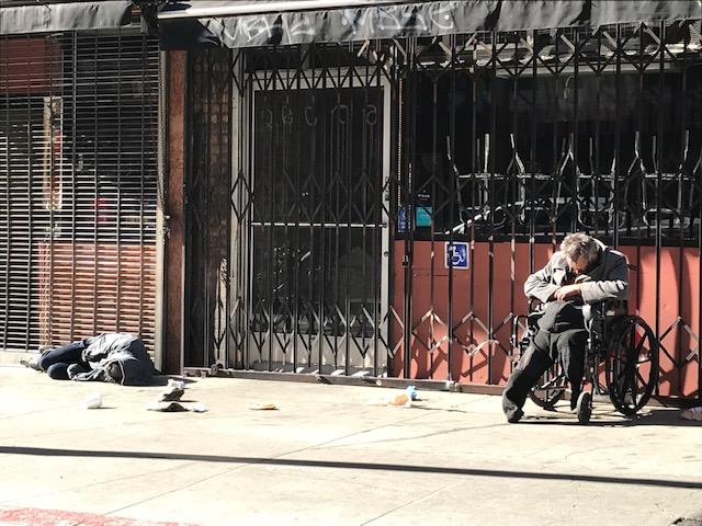 Se calcula que hay más de 52 mil indigentes en el condado de LA. (Agustín Durán)