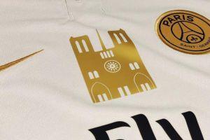 PSG estampa la imagen de Notre-Dame en sus playeras para recaudar fondos