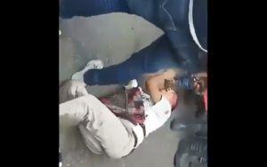 """""""Robé limpio, ya estuvo"""", dice sujeto al ser golpeado por pobladores"""