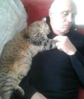 Un hombre recién operado despierta con un animal extraño reconfortándole
