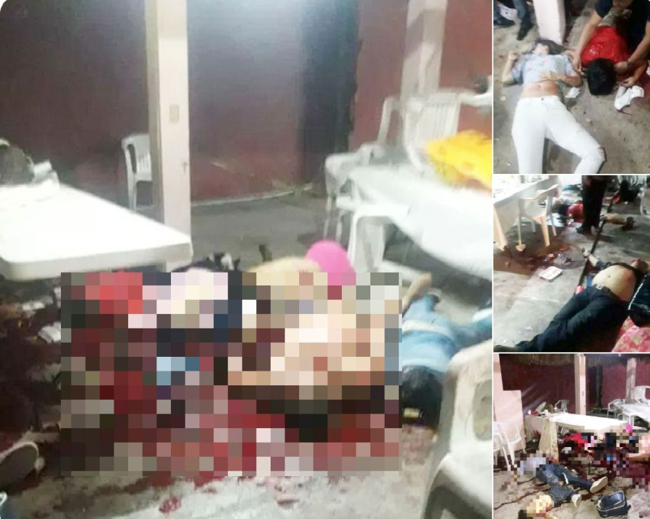 Masacre en Veracruz deja 13 muertos, entre ellas niño de un año