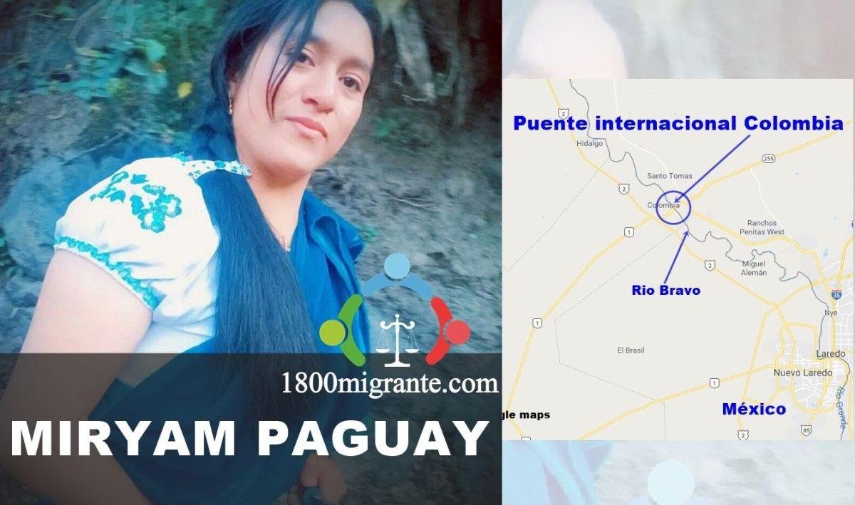 Myriam Paguay es una de las desaparecidas.