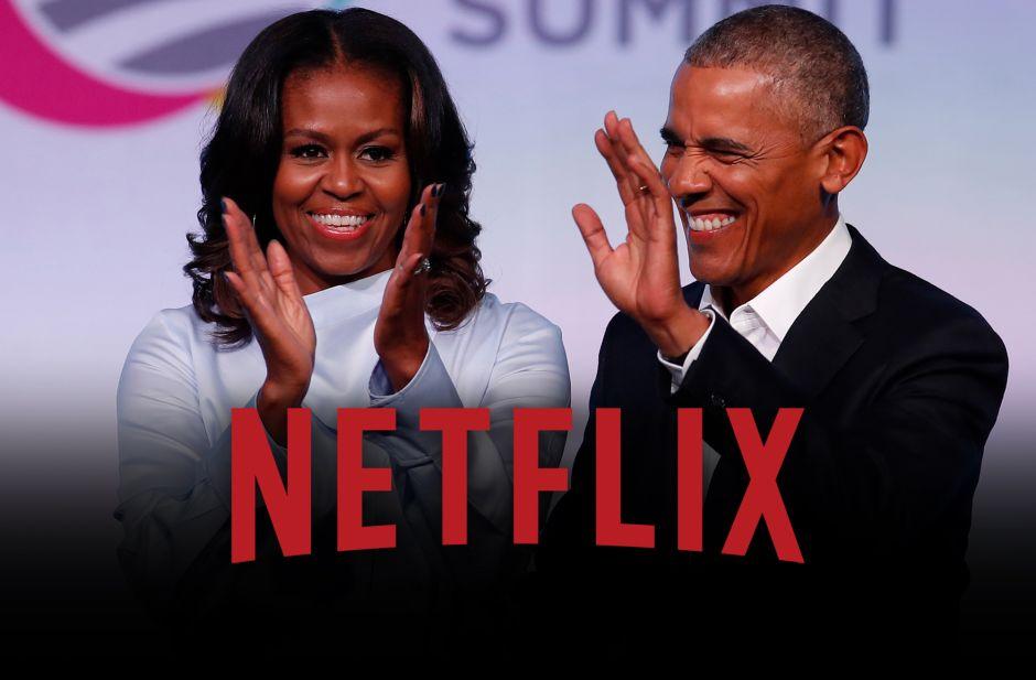 Los 7 proyectos que los Obama producirán para Netflix