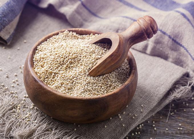 La quinoa es un súper alimento.