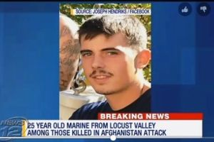 Confirman otra víctima de Nueva York en explosión terrorista talibana en Afganistán