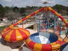 El parque acuático Splashtown en Spring, Texas.