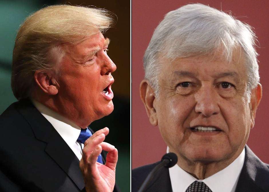 """Trump dice que existe una """"buena posibilidad"""" de llegar a un acuerdo con México"""