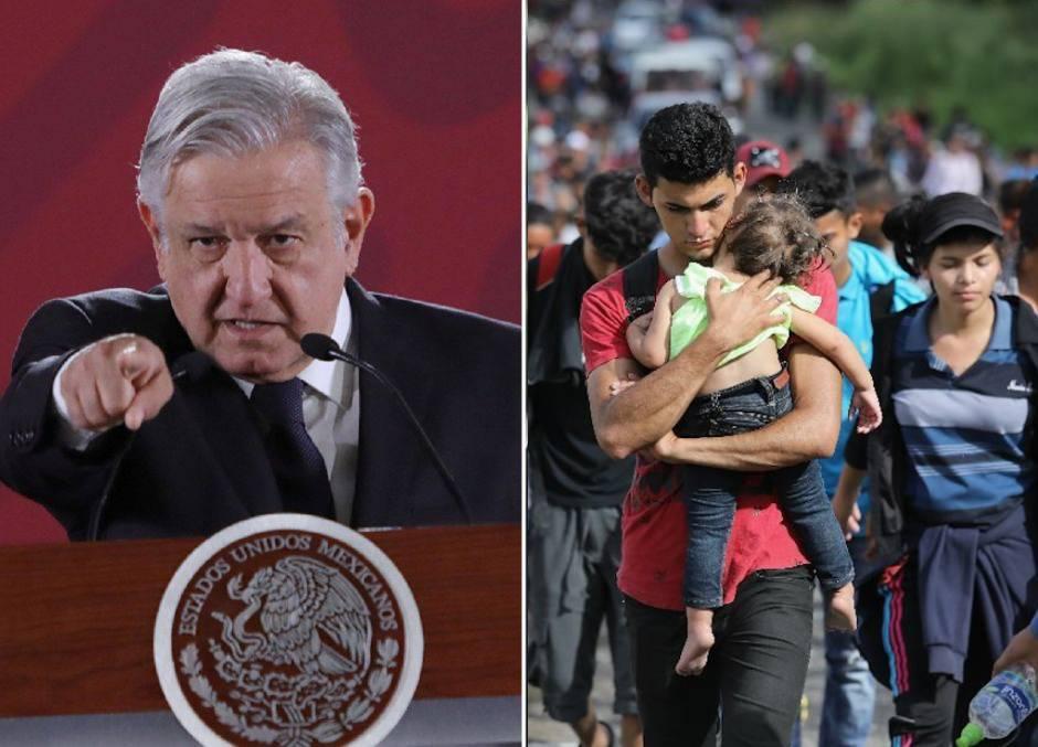 López Obrador defiende su política de contención migratoria