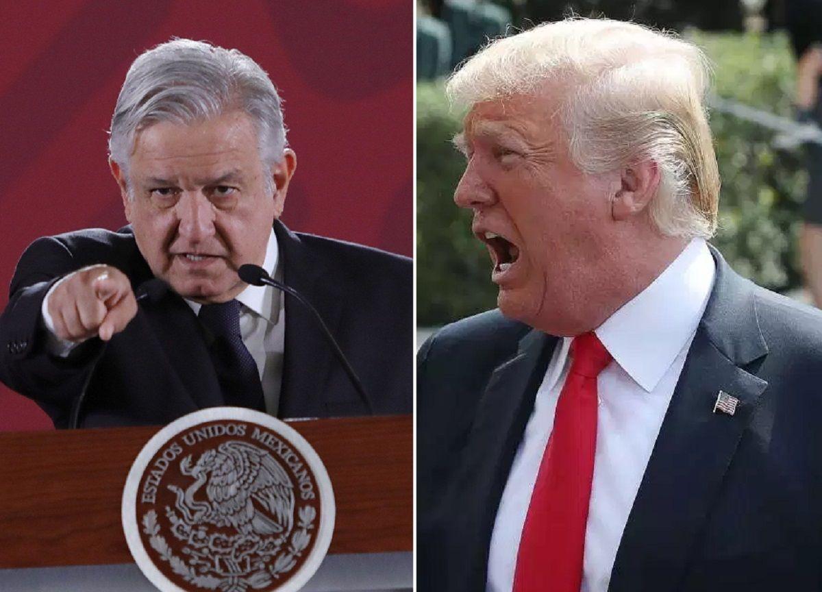El presidente Trump lanzó nuevas críticas al Gobierno de López Obrador.