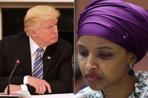 Acusan a Trump de poner en riesgo la vida de representante demócrata por comentario sobre 9/11