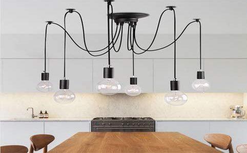 8 lámparas colgantes para tu salón comedor que le darán a tu casa un look renovado sin gastar mucho dinero