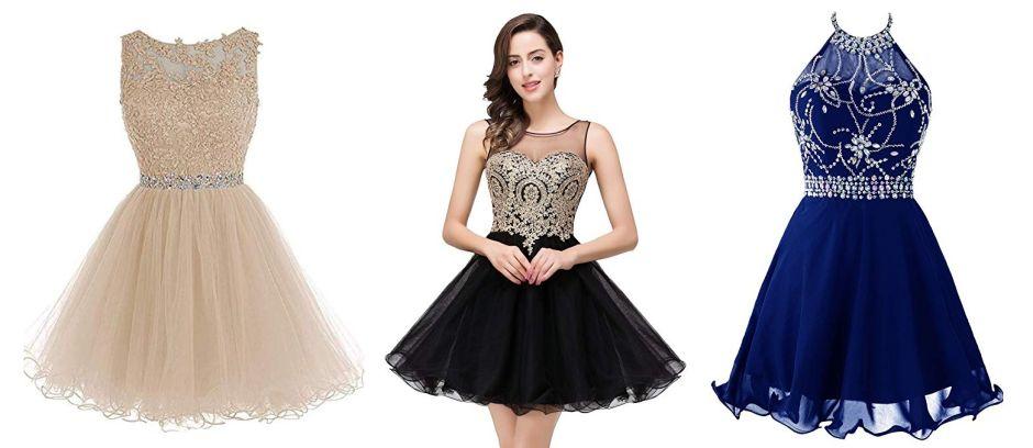 10 vestidos cortos para estar cómoda en tu fiesta de quinces sin dejar de lucir elegante